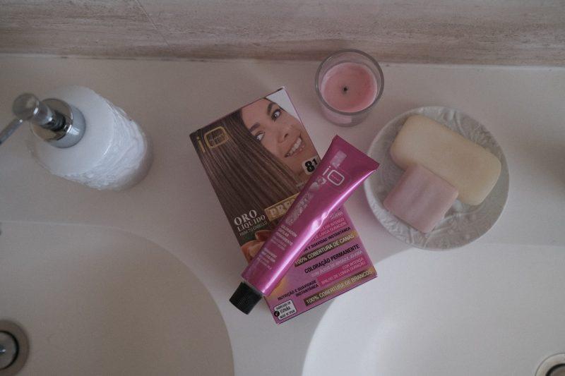 tinte de pelo en casa